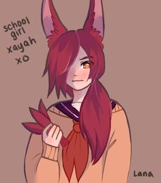 School girl xayah by LanaKun
