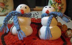 Town's End Craft Corner: Salt Dough Christmas Ornaments and Snowman Figures