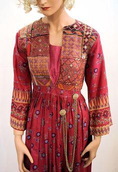 Marrakesh Express Dress, Antique Ethnic Dress, Kuchi Dress, Hippie Dress, Afghan…