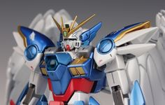GUNDAM GUY: MG 1/100 Wing Gundam Zero Custom - Painted Build