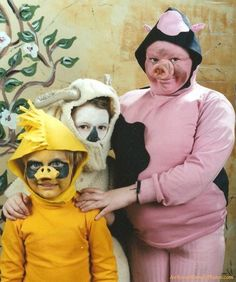 "To be fair, it's hard to pull off the ""cute little piggy"" look. 