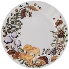Chanterelle - 4 Dinner plates