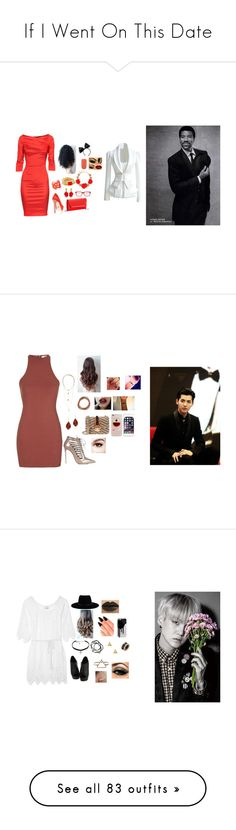 """If I Went On This Date"" by kpopisbae4life ❤ liked on Polyvore featuring THOMAS RATH, Kenneth Jay Lane, BCBGMAXAZRIA, Oscar de la Renta, SocialEyes, Vince Camuto, Essie, women's clothing, women and female"
