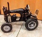 Resultado de imagen de singer sewing machine tractors
