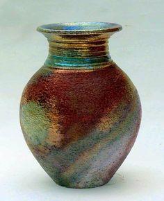 Raku Pots   Wein Recent Raku   Pottery   Pinterest