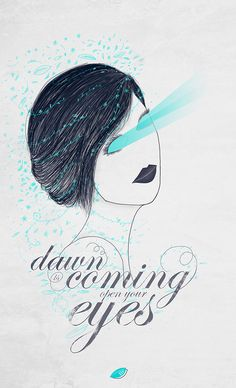 Dawn is coming, open your eyes on Behance