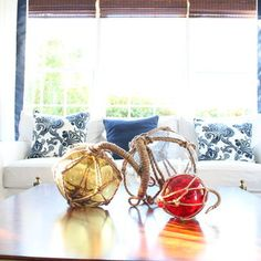 Brant Point, Nantucket - traditional - living room - boston - Kristy Kay