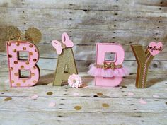 Pink and gold Minnie Mouse Party Pink and by HeidiPartyCreations