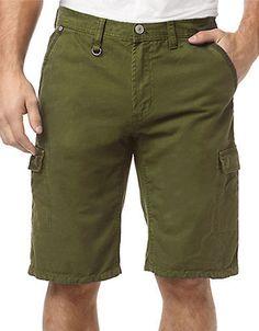 Straight Leg Cargo Shorts