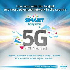 SMART announced the 5G LTE Advanced