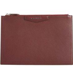 96d65f14237 Tory Burch Gigi Black Patent Leather Clutch | Luxury Handbags & Shoes | Black  patent leather, Leather clutch, Leather