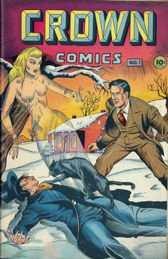 Crown Comics #1, 1945, Pencils: Matt Baker