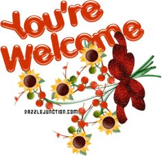 Your Welcome Fall quote Welcome Quotes, Welcome Words, You're Welcome, Welcome To The Group, Thank You Gifs, Thank You Images, Welcome Pictures, Welcome Images, Thank You Messages Gratitude