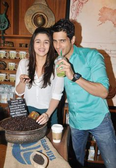 Alia Bhatt and Siddharth Malhotra