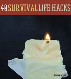 40 Survival Life Hacks | Tips and tricks for when the SHTF | survivallife.com