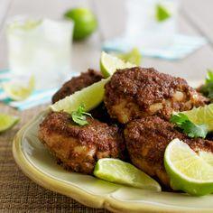 Baked Jamaican Jerk Chicken