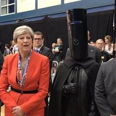 Strong and stable. Vote Buckethead, sensible policies for a happier Britain.