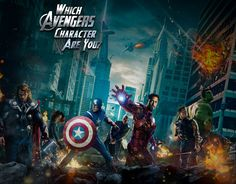 It's assembly time! Find out which of Earth's mightiest heroes best fits your personality.