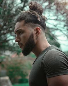 30 Coolest Undercut Hairstyles for Men in 2020 Mens Long Hair Undercut, Shaved Undercut, Curly Hair Men, Man Bun Undercut, Undercut Hair Designs, Man Bun Hairstyles, Cool Hairstyles For Men, Haircuts For Men, Updo Hairstyle