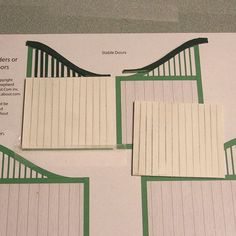 Traditional Style Doors, Gates or Horse Jump Supports in Several Scales: Begin Building the Doors On a Drawing or Plan