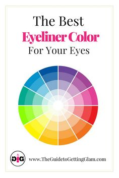 Makeup tip: Want to know how to pick the best eyeliner color for your eyes? Read more makeup artist tips on how to pick the right eyeliner for your eye color.(Best Eyeliner Tips) Eyeliner Styles, Best Eyeliner, How To Apply Eyeliner, Eyeliner Pencil, Color Eyeliner, Eyeliner Makeup, Simple Eyeliner, Prom Makeup, Make Up