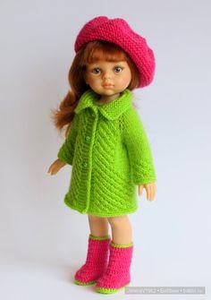 С Международным женским днём - 8 Марта! Игровые куклы Paola Reina. / Paola Reina, Antonio Juan и другие испанские куклы / Бэйбики. Куклы фото. Одежда для кукол Knitting Dolls Clothes, Crochet Doll Clothes, Knitted Dolls, Doll Clothes Patterns, American Girl Outfits, Crochet Girls, Crochet Baby, Girl Dolls, Barbie Dolls