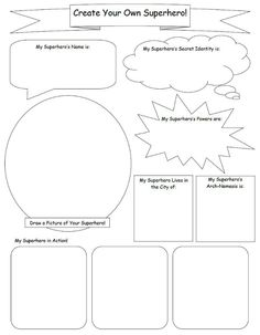Sweet hot mess free printable comic book templates and for Design your own blogger template free