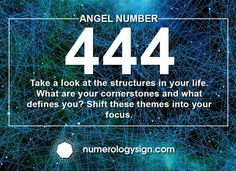 The Angel Number 444 is a very powerful message from your Angelic guides. Here are the Angel Number 444 meanings and why you are seeing Number 444 Meaning, Meaning Of 444, Numerology Number 4, Numerology Chart, Angel 444, Seeing 444, Scrapbooking Diy, Leadership Personality, Yoga Position