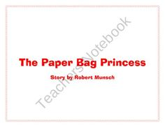 Activities to complete for the story The Paperbag Princess by Robert Munsch. Teaching Reading, Teaching Ideas, Learning, Princess Stories, Esl Lessons, Point Of View, Literacy, Dragons, Teacher