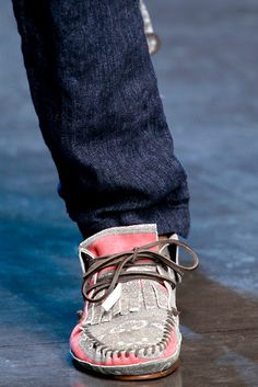 Men's Shoes fashion Trends Spring-Summer 2012 Dolce