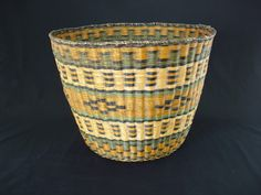 Hopi Native American Indian Baskets, Basketry - Gene Quintana Fine Art - Indian Baskets