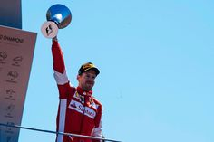 #F1 Pilot Sebastian Vettel P2 at the 2015 Italian Grand Prix