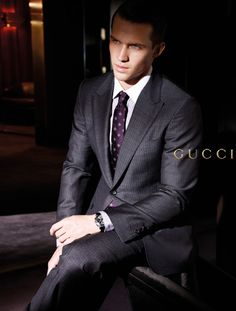 With a promising career, ill be able to wear the suits I desire.