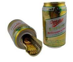 Beer Can Hidden Diversion Safe Miller High Life Stash Hidden Gun Rooms, Diversion Safe, Can Safe, Hidden Safe, Miller High Life, Safe Room, Thing 1, Household Items, Beer