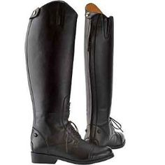 Saxon Equileather Ladies Field Boots by Saxon. $48.49. From the original Saxon. Our Equileather Field Boots are 100% washable - You Won't Believe It's Not Leather! Features: