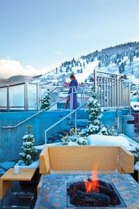 Sky Lodge in Park City, Utah for winter sports fanatics! #Travel