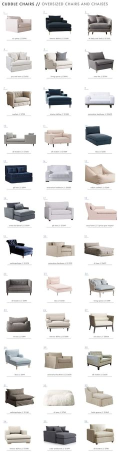 Most Comfortable Chair Ever – A Roundup (for Elliot's Room)