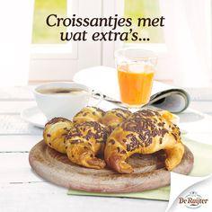 Croissantjes #ontbijt #hagelslag #recept #croissant #inspiratie