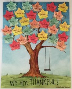 The Thankful Tree is the best new way to bring your family together this Thanksgiving. Share what you are thankful for in this creative and fun way! Fall Preschool, Preschool Crafts, Diy Crafts For Kids, Arts And Crafts, Paper Crafts, Family Crafts, Thanksgiving Crafts For Kids, Holiday Crafts, Thanksgiving Tree