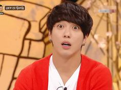 Jung Yong Hwa's surprise face!!!!!