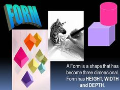 Elements of Art - Form