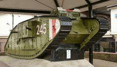 "Panzerserra Bunker- Military Scale Models in 1/35 scale: Mk IV ""Female"" WWI Airship tug, Mk IV ""Male"" WWI British heavy tank, Mk IV ""Male"" Tadpole WWI British heavy tank - case report"
