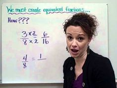 Equivalent Fractions-Christine Munafo's Flipped Classroom-4th grade STEM...great explanation. My kids caught on very quickly!