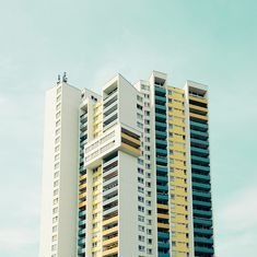 Matthias Heiderich colorful exterior photography highrise