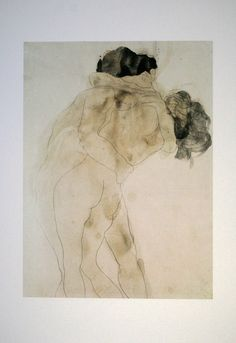 Auguste Rodin Two Embracing Figures Graphite with grey and yellowish-brown wash on white wove paper Ashmolean Museum Auguste Rodin, Pierre Auguste Renoir, Rodin Drawing, Painting & Drawing, Art And Illustration, Life Drawing, Figure Drawing, Figurative Kunst, Art Watercolor