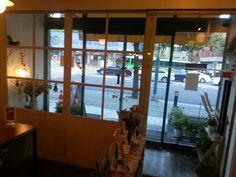 Cafe Pongdang(in Seoul). Pongdang is a  onomatopoeia word of water splash  in  Korean.