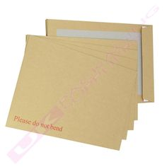 10 Brown Stiff Hard Board Backed DO NOT BEND Envelopes SIZE A4/C4 229x324mm