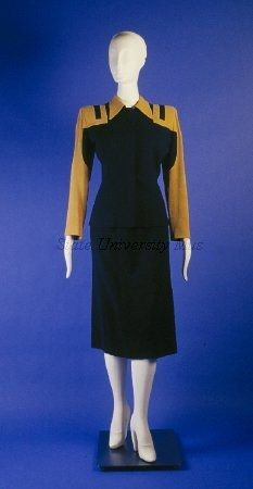 Dress Suit 1944, American, made of wool