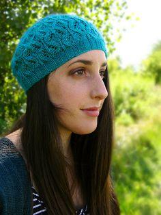 Ravelry: Dewdrop Hat pattern by Kerri Blumer Knitting Ideas, Knitting Patterns, Knit Hats, Beret, Mittens, Crochet Projects, Knits, Ravelry, Snug