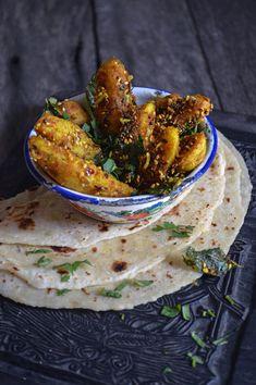 Gujarati potatoes (He Needs Food)